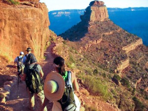 Hiking Tour In Grand Canyon