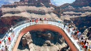 The visitors at Grand Canyon