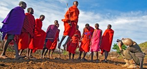 Maasai Mara - The Local Tribe