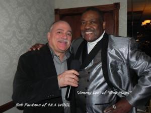 Jimmy Lee with Bob Pantano of WOGL 98.1