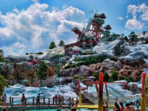 Blizzard Beach And Typhoon Lagoon