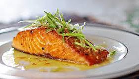 Firehouse Café's Grilled Salmon