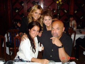 Angela DePersia with her family