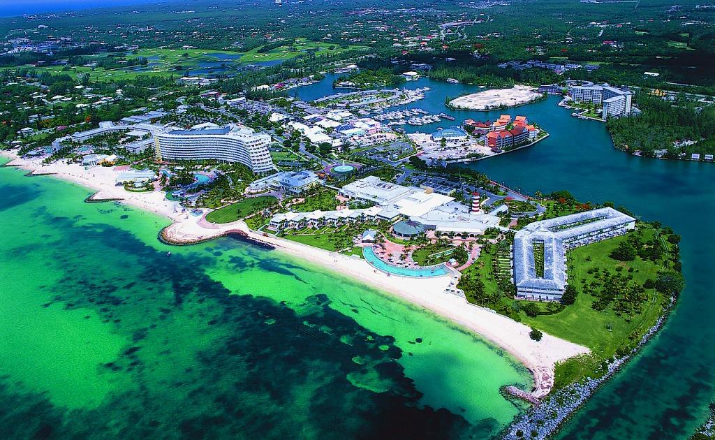 Blue Lagoon Island Beach Bahamas
