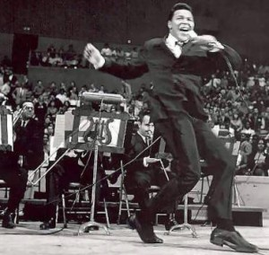 "Chubby Checker performing ""The Twist"""