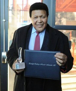 Chubby Checker at Lehigh Valley music Awards 2015