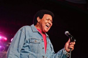 Chubby Checker performing live