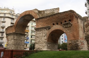 The Arch Of Galerius and Rotunda