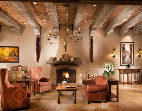 The hilton of santa fe for Art decoration