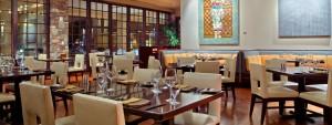 Dining at the Santa Fe Hilton