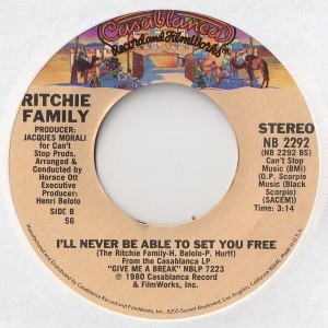 The Famous Song-I'll Never Be Able To Set You Free