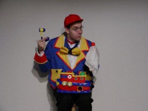 Lou Johnson performing Bingo The Clown