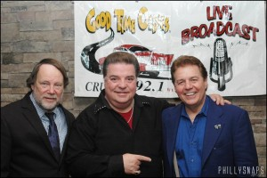 Lou Costello on Cruisin 92.1 with Kenny Jeremiah and Pepper Paul