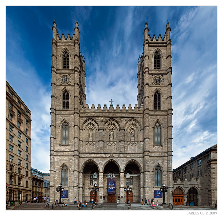 Notre Dame Basilica Montreal: Montreal-The Canadian City & More To Explore