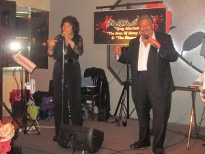 Patti Lattanzi performing with Greg Martiello