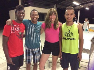 Shannon Johnson's Visit To Orphanage In Panama