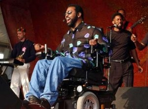 After his accident Teddy continued performing for fans