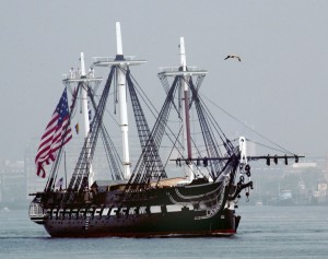 USS-constitution Ship