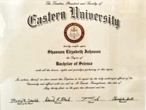 Eastern University Degree
