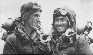 Hilary & Tenzing, The first two men to reach the Mount Everest.