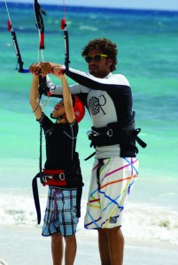Kiteboard-lesson-201x300 Kiteboarding - Experience it in a Lone Star State of Texas