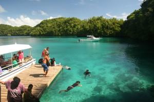 Visitors @ Palau Jellyfish Lake