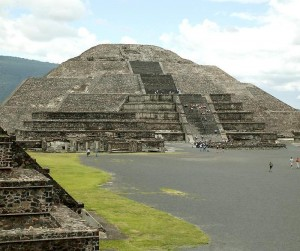 Teotihuacan and its famous ruins