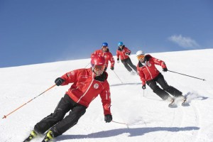 Ski instructors helps you to ski better