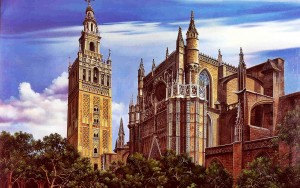 Seville-Cathedral-spain-32649854-1280-800-300x188 Spain - Enjoy the beauty of Old World