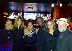 Shannon-Johnson-with-Kenny-Jeremiah-Teddy-Pendergrass-and-others-300x214 Hooked on Shannon Johnson - from Entrepreneur to Volunteer
