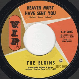 Heaven Must Have Sent You - Elgins