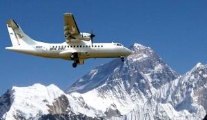 Everest experience on a Flight