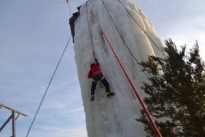 Ice Climbing Silo