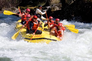 River Rafting with Guides
