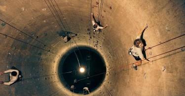 silo climb
