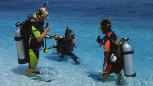 The Diving Lessons @ Maldives