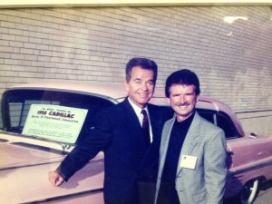 Tommy Mc Carthy with Dick Clark