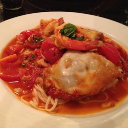 Viana's veal and shrimp