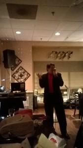 Vic Rubino performing @ V3 Bistro & Cafe