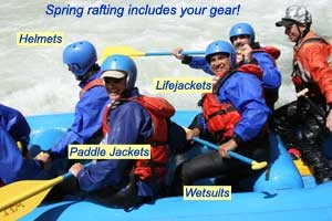 Things To Wear On River Rafting