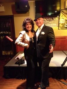 Patti Lattanzi with Greg Armstrong