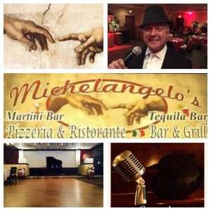 Greg Armstrong performs at Michelangelo's