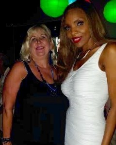 Donna Boyle with Rainere Martin