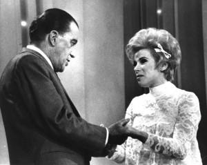 Joan Rivers and Ed Sullivan