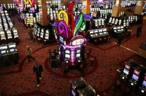 Casino floor at Harrah's Resort Atlantic City