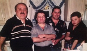 The Late Ron Volpe with brothers, Mike, Chop and Steve