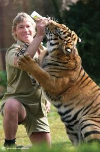 Conservationist Steve Irwin