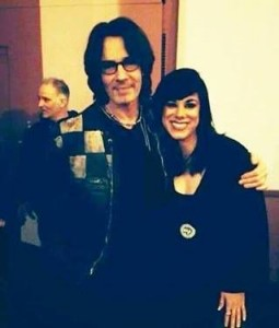 Angel Donato and Rick Springfield