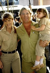 Bindi Irwin family early