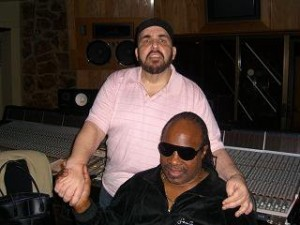 Bobby Eli with Stevie Wonder